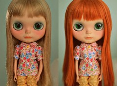 ash blonde // ginger snap