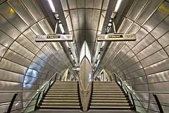 Southwark Tube (The_Crabbers) Tags: london station modern underground tube hdr southwark
