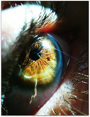 iMacro... (Kenneth \m/ \m/ (Off/On)) Tags: iris macro eye closeup pupil iphone eyemacro iphonemacro