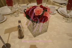 (Joyce Wedding Services) Tags: pink red roses color corporate colorful crystal decoration vase jelly theme romantic elegant centerpieces uploaded:by=flickrmobile flickriosapp:filter=nofilter