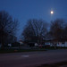 Moon at blue hour