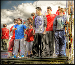 CANDID PARKOUR BOYS (Derek Hyamson) Tags: boys candids southport hdr parkour freerunners airbornacademy
