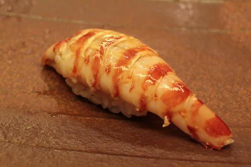 Sushi Isshin 鮨 一新 ボタンエビ
