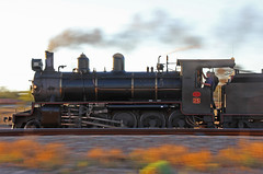 NM25 - Motion Blur (Wings and Wheels) Tags: railroad motion blur heritage port train bush south volunteers rail railway australia historic steam motionblur ranges pichi outback augusta locomotive southaustralia flinders preservation steamtrain quorn richi flindersranges prr portaugusta pichirichi pichirichirailway railwaypreservation