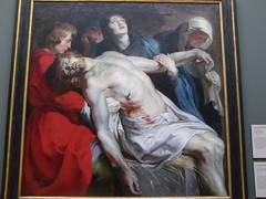 The Burial of Jesus Christ - At the Getty (Maggie Mbroh, joeyjorie) Tags: