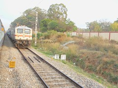Lalbagh Exp. (B V Ashok) Tags: sr lalbagh superfast swr lgd 12608 30297 wap7