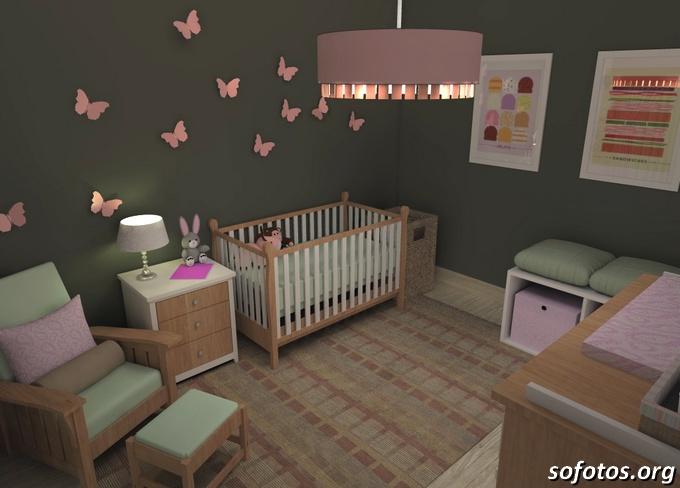 Quartos bebê decorado
