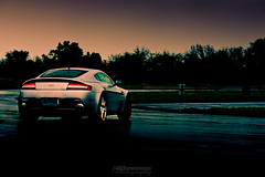 Sliding around the skidpad (Al Ebnereza) Tags: martin ferrari aston lambo owners summitpoint 2011 astonmartinvantage astonmartindbs philbastiaans astonmartinv12vantage astonmartinownersclub astonmartinvantages clubsummit point2011astonmartinlam