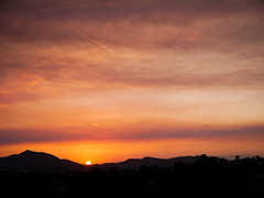 Camarillo Springs Fire Sunset (Night Owl City) Tags: california sunset usa smoke venturacounty thousandoaks wildfire conejovalley camarillospringsfire