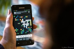 Let's play Wordfeud (johanbe) Tags: nikon play samsung galaxy tamron spela wordfeud