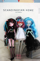 We are MH Doll! (Tazcity0214) Tags: custom mh goyle ghoulia draculaura mhcustom rochellegoyle