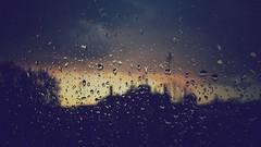 Sunset, clouds, rain... you get the idea.