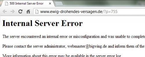 "Ewig drohendes Versagen? - Wie wahr! - 2013-05-17 • <a style=""font-size:0.8em;"" href=""http://www.flickr.com/photos/77921292@N07/8748439924/"" target=""_blank"">View on Flickr</a>"