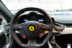 Ferrari 458 Italia (Bromley Photography) Tags: columbus cars coffee car race racecar photoshop canon photography eos photo italia photographer f1 ferrari exotic mclaren covert 7d bmw gt dslr m3 tuning lamborghini letterman dynamics gallardo gtr v12 bromley tuned lmr 458 rahal aventador