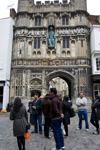 Canterbury Cathedral Entrance