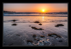 Sunset at Instow (Travels with a dog and a Camera :)) Tags: uk sunset england southwest west art beach digital photoshop coast spring al pentax unitedkingdom south north andrew coastal devon april 1855mm smc bennett 44 wr lightroom northdevon instow k7 f3556 andrewbennett cs6 2013 pentaxda justpentax pentaxart pentaxk7 smcpentaxda1855mmf3556alwr photoshopcs6 lightroom44