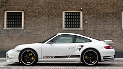Porsche 997 Turbo (Bas Automotive Photography) Tags: bw white netherlands canon germany photography photo power automotive turbo german porsche editing 36 ef spotting circular edit zwolle v6 pl 997 techart 2470mm polarisation boxor 550d carspot