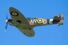 Spitfire (Huw Hopkins LRPS Photography) Tags: england spring united may kingdom airshow ia duxford spitfire cambridgeshire 1a airfield iwm supermarine 2013 ar213 mk1a mkia p7308