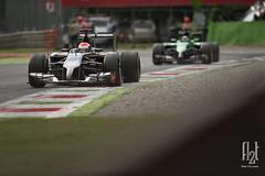 Adrian Sutil (Flat-12) Tags: f1 formulaone sauber formula1 monza 2014 italiangrandprix jimhunter flat12 adriansutil granpremioditalia flat12com