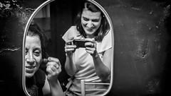 Actrices (Pablo Gorosito) Tags: actrices actriz teatro theater rosario under comedia humor negro blanco blancoynegro blanconegro blackandwhite blackwhite nikon nikkor camarin camarines escena scene makeup