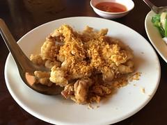 Fried squid with garlic (soma-samui.com) Tags: thaifood thailand kohsamui seafood squid