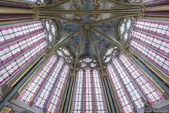 20160725_chaalis_abbey_primatice_chapel_8z889 (isogood) Tags: chaalis chapel primatice frescoes stainedglass renaissance barroco france church religion christian gothic cathedral light abbey