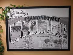 Greetings from Diamondville, Wyoming (jimmywayne) Tags: diamondville wyoming super8 motel greetings lincolncounty