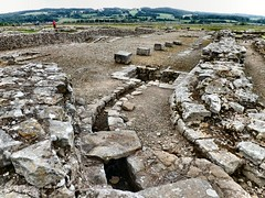 Romans in the North (John McLinden) Tags: corbridge coria northumberland roman fort town drainage masonry stone drains