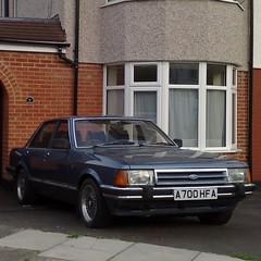 (uk_senator) Tags: 1984 ford granada ghia mk2 blue