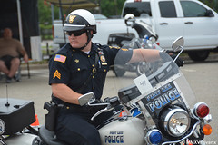 224 Wayne - Fort Lee Police (rivarix) Tags: newjerseylawenforcementmotorcycleskillsrun policerodeo policeridingcompetition policeman policeofficer lawenforcement cops policemotor fortleepolicedepartmentnewjersey harleydavidsonpolicemotorcycle harleydavidsonroadking motorcops