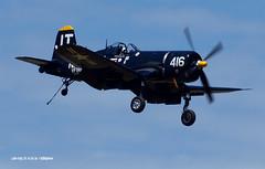 160410_16_LC_JimTobul (AgentADQ) Tags: jim tobul vought f4u4 corsair korean war hero gateway florida air show lake city 2016 warbird airplane navy fighter plane