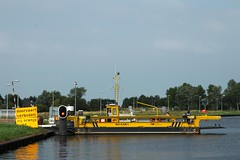 Ferry Across The North Holland Canal (elhawk) Tags: northholland waterland canal ferry