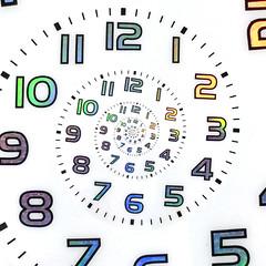 Droste clock (zamburak) Tags: droste clock filterforge msh081614 msh0816