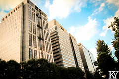 Large buildings (ZKent.Yousif) Tags: chiyodaku tkyto japan jp  chku  minatoku canon sigma sigma1750mm 50mm streetphotography street building architecture