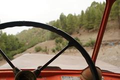 Let's ride ! (mindisaster) Tags: truck closeup ford vintage ride nature steeringwheel