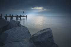 Persevere (scott.hammond34) Tags: landscape seascape sunrise hopton norfolk coast sea water rocks groyne seadefences cloud storm light outdoor canon6d eos 1740f4l