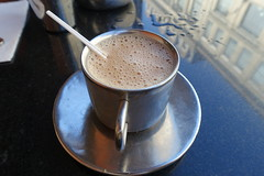 Chai @ Saravana Bhavan @ Paris (*_*) Tags: paris france europe summer city august 2016 monday sunny bhavan indian south food restaurant littlebombay saravana saravanabhavan vegetarian tea chai