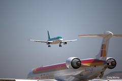Aer Lingus FTE (2) (crgmry) Tags: aerlingus fte aerlingusfte airbusa320 a320 aeropuertodejerez jerez aeropuerto airport jerezairport flighttrainingeurope