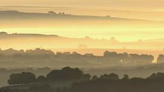 Horizons (pentlandpirate) Tags: buxton peakdistrict mist layers fog derbyshire dawn