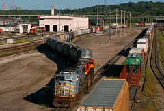 TFM MAC in KC (Jeff Carlson_82) Tags: emd sd70mac tfm mexican 1656 transfer emporiasub bnsf burlingtonnorthernsantafe argentineyard argentine knocheyard grey kc ks kansascity kansas train railroad railfan railway 112job