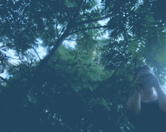 (Martyna Rat) Tags: outdoor blur green tree indie girl female people vilnius lithuania filter noise