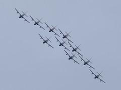 DSC_5435 (sauliusjulius) Tags: nato days ostrava 2016 czech air force september 17  18 leos janacek airport osr lkmt frecce tricolori 313 gruppo addestramento acrobatico aermacchi mb339