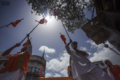 Dhvaj (soumitra911) Tags: ganpati festival ganesh miravnook procession pune india maharashtra bappa dhol tasha dhvaj tradition
