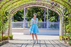 IMG_1500 (Elowdi) Tags: bag sac jupe skirt organza bleu bleue blue femme woman t summer habit vtement clothes outfit cra crea crations creation mode fashion couture sewing fantaisy fancy jardin garden