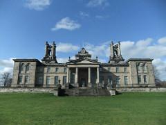 Scottish National Gallery of Modern Art (micebook) Tags: edinburgh uk scotland ruins buildings skyline gallery tourism sky green