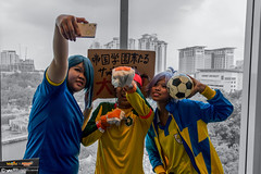Inazuma Eleven x #AMG2016: 030 (FAT8893) Tags: amg2016 animangaki animangaki2016 cosplay inazumaeleven level5 malaysia soccer fubuki shirou shawn froste mamoru endou mark evans kazemaru ichirouta nathan swift