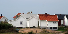 The fishermen's huts at Saltholmen (Ib Aarmo) Tags: saltholmen rde norway fishermens huts hut coast coastal outdoor