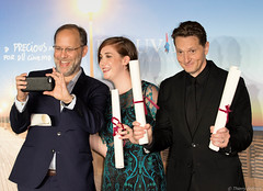 10-09-2016-68 Ira Sachs  Anna Rose Olmer Matt Ross (Thierry Sollerot) Tags: deauville2016 thierrysollerot tapis rouge deauville festival film amricain american