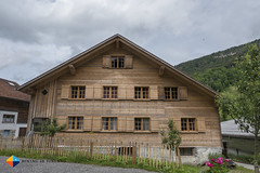 Wooden houses of Mellau (HendrikMorkel) Tags: austria bregenzerwald family sonyrx100iv vorarlberg sterreich mountains alps alpen berge
