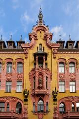 Lodz-4 (Alex Ignatov) Tags: europe lodz poland architecture building city cityscape cloud sky streetphotography lodzvoivodeship pl